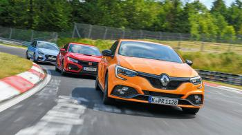 i30 N Performance vs Civic Type R vs Megane R.S. Trophy