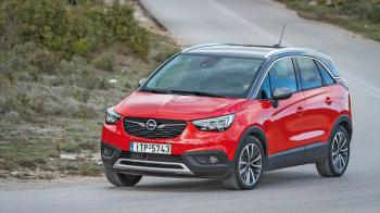 Δοκιμή: Opel Crossland X 1,2 115PS