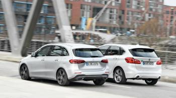 Mercedes B 200d vs BMW 218d xDrive Active Tourer