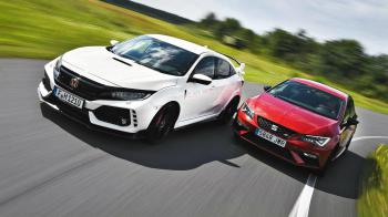 Seat Leon Cupra 300 VS Honda Civic Type R. Ποιο είναι καλύτερο?