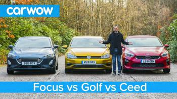 Video Review: Volkswagen Golf vs Ford Focus vs Kia Ceed