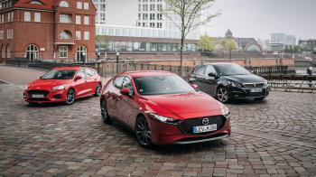 Ford Focus VS Mazda 3 VS Peugeot 308