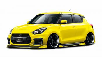 Το Suzuki Swift Sport από την Kuhl Racing