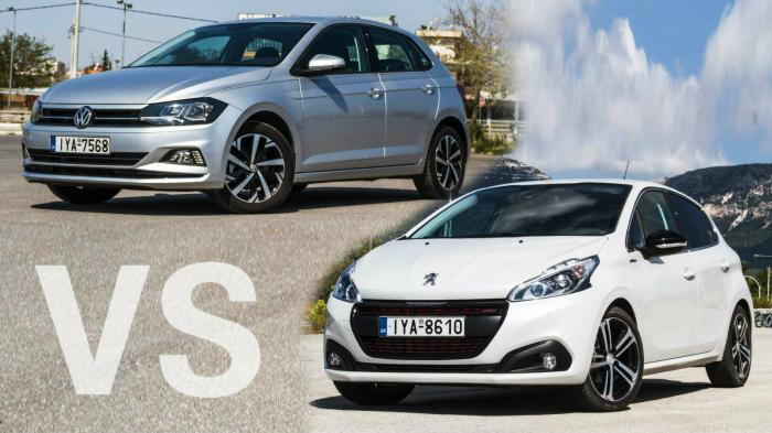 af1daf7b1753 ΣΥΓΚΡΙΤΙΚΟ Peugeot 208 1.2 110 PS GT-Line vs VW Polo 1.0 TSI 115 PS