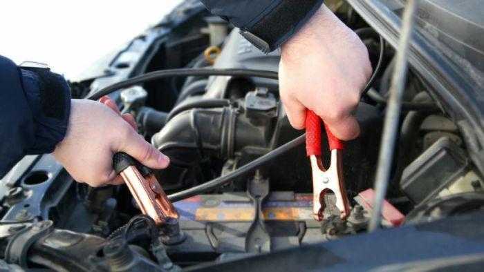 Βοηθητική Συνδέστε τα αυτοκίνητα